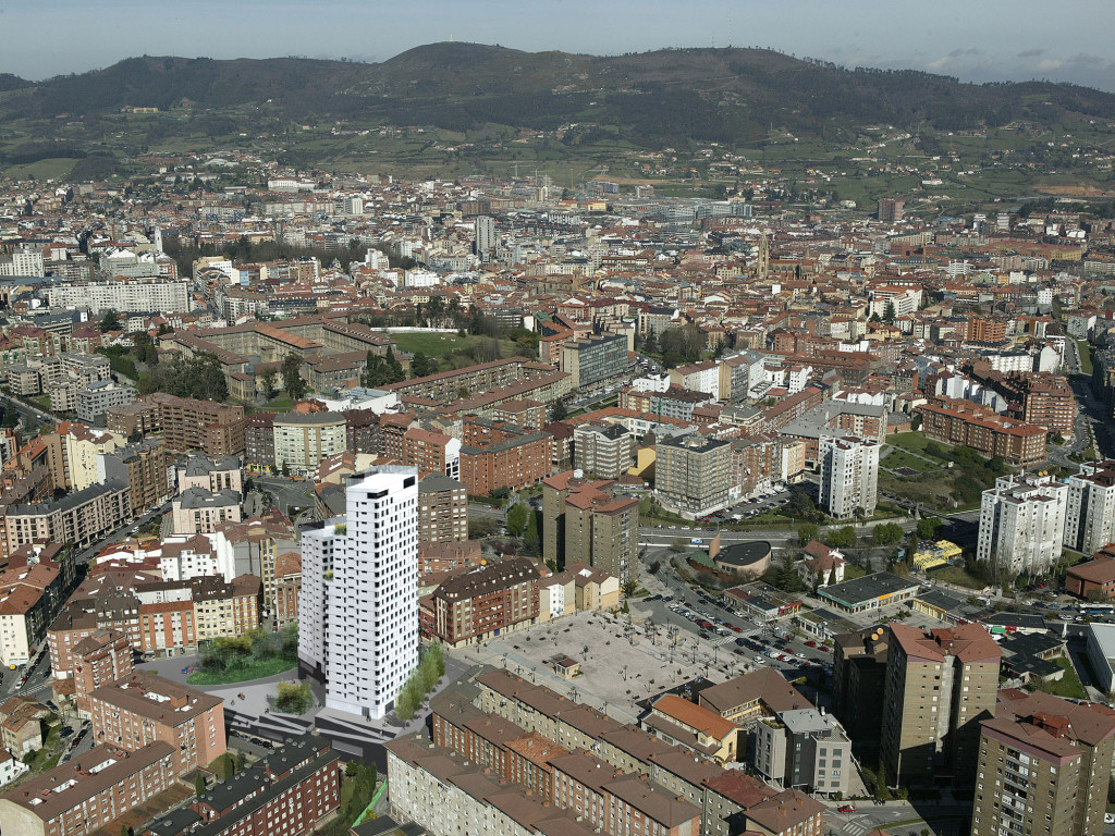 Torres de viviendas san l zaro i oviedo francisco for Piscinas san lazaro oviedo