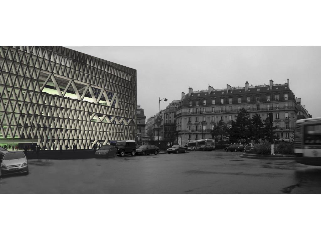 Edificio de oficinas en la place de l europe de par s for Cajamar oficinas valencia